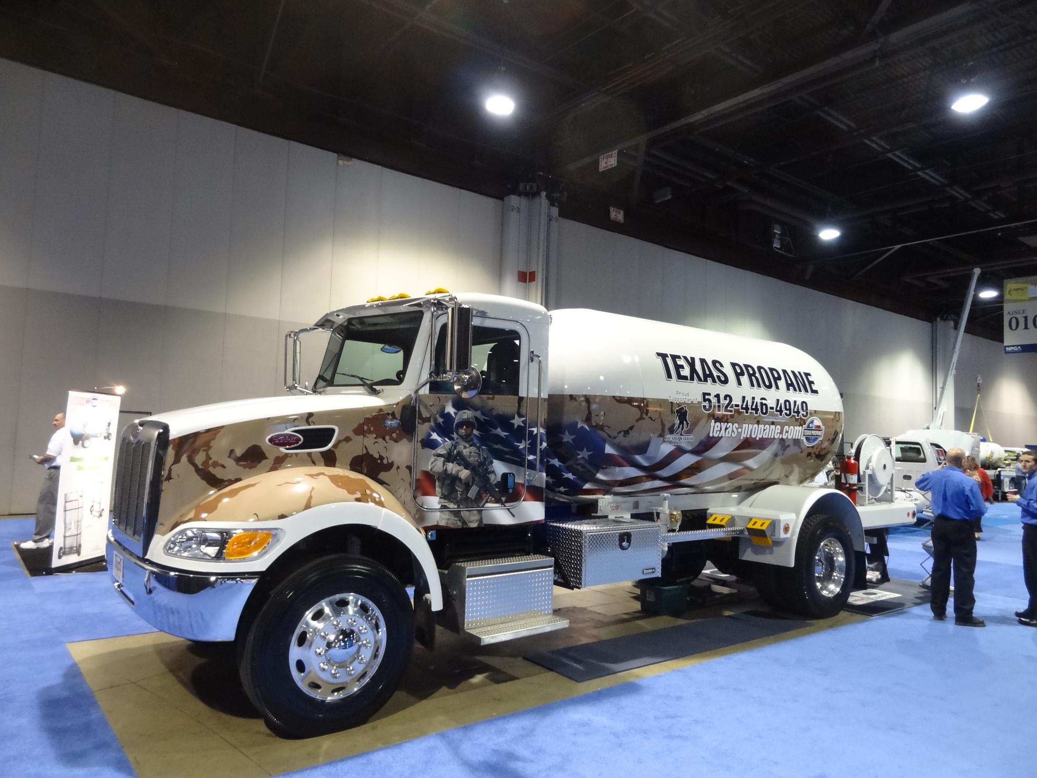 Американские газовозы для перевозки пропана