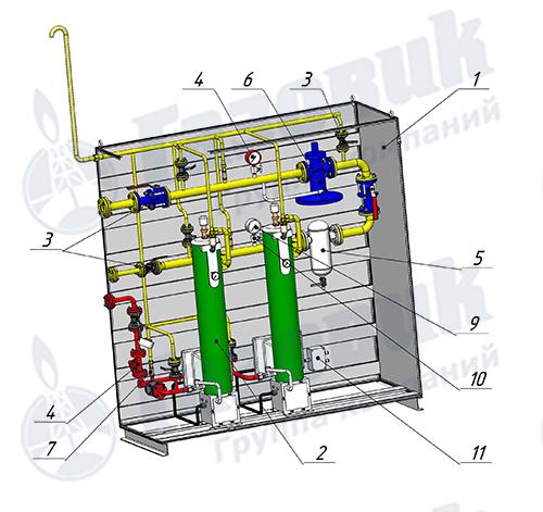 Испарительная установка Propan 1-1-640