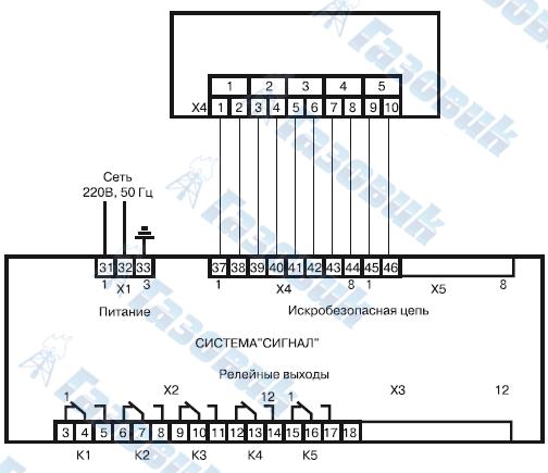 Су-1с сигнализатор уровня схема подключения